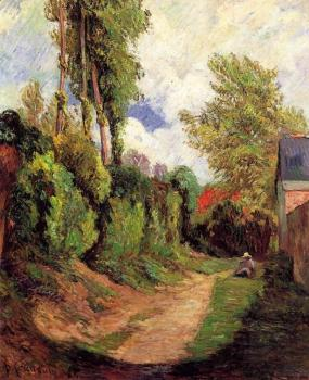 Paul Gauguin : Sunken Lane