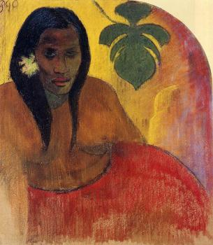 Paul Gauguin : Tahitian Woman II