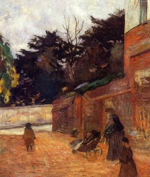 Paul Gauguin : The Artist's Children, Impasse Malherne