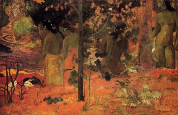Paul Gauguin : The Bathers