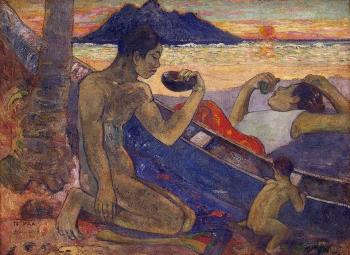 Paul Gauguin : The Canoe