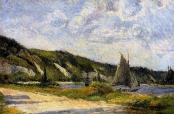 Paul Gauguin : The Cliffs of Le Bouille
