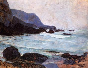 Paul Gauguin : The Coast of Bellangenay