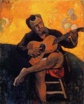 Paul Gauguin : The Guitar Player