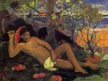 Paul Gauguin : The King's Wife