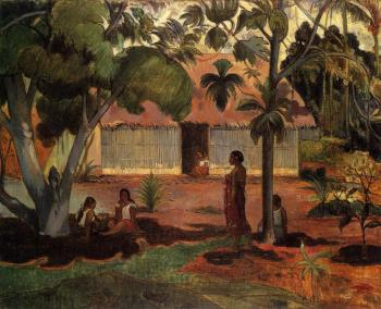 Paul Gauguin : The Large Tree