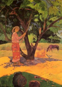 Paul Gauguin : The Lemon Picker