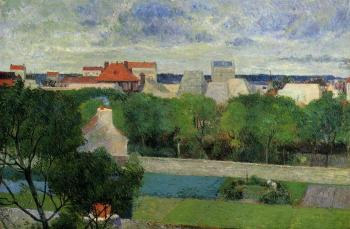 Paul Gauguin : The Market Gardens of Vaugirard
