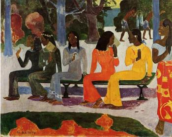 Paul Gauguin : The Market