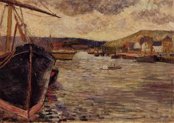 Paul Gauguin : The Port of Rouen