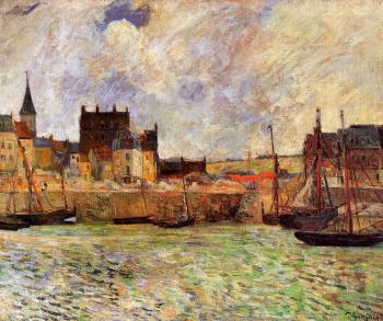 Paul Gauguin : The Port, Dieppe