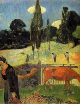 Paul Gauguin : The Red Cow