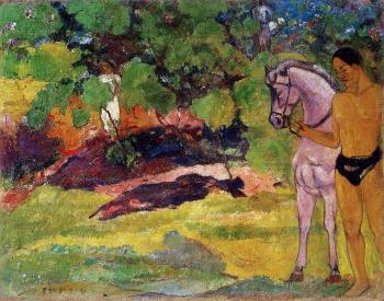Paul Gauguin : The Rendezvous