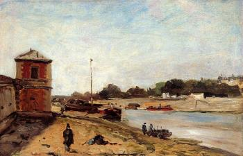 Paul Gauguin : The Seine Opposite the Quai de Passy