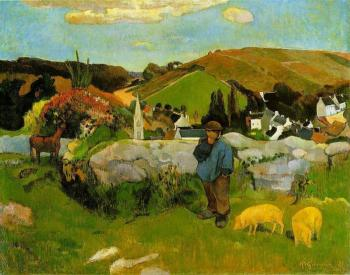 Paul Gauguin : The Swineheard