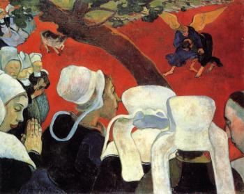 Paul Gauguin : The Vision after the Sermon II