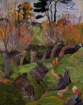 Paul Gauguin : The Willows