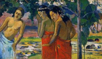 Paul Gauguin : Three Tahitian Women