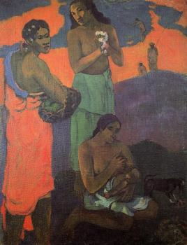 Paul Gauguin : Three Woman on the Seashore
