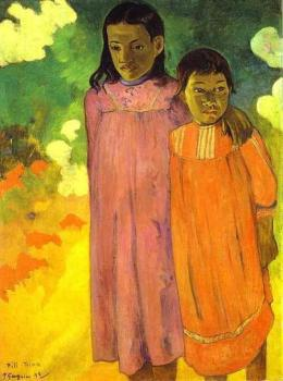 Paul Gauguin : Two Sisters