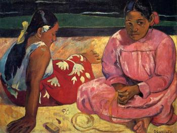 Paul Gauguin : Two Women on the Beach