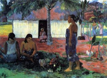 Paul Gauguin : Why are You Angry