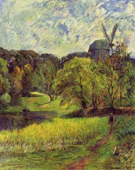 Paul Gauguin : Windmil, Ostervold Park