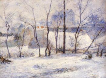Paul Gauguin : Winter Landscape, Effect of Snow