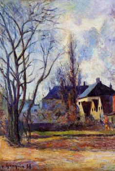 Paul Gauguin : Winter's End