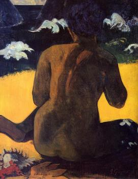 Paul Gauguin : Woman by the Sea