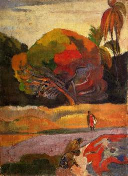 Paul Gauguin : Women at the Riverside