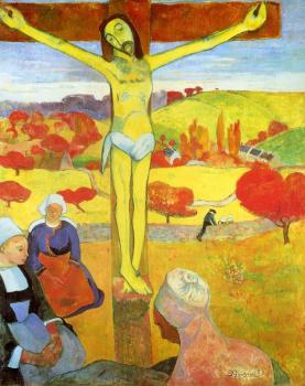 Paul Gauguin : Yellow Christ