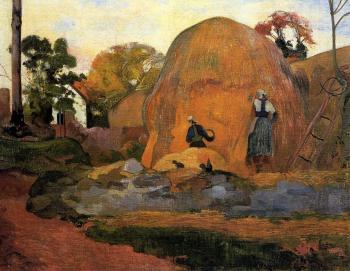 Paul Gauguin : Yellow Haystacks