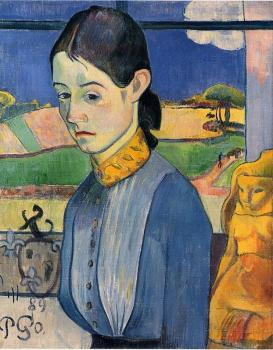 Paul Gauguin : Young Breton Woman