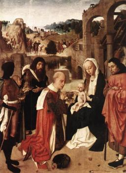 Geertgen Tot Sint Jans : Adoration of the Kings