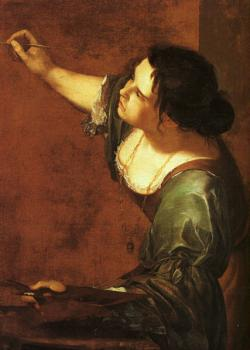 Artemisia Gentileschi : Self-Portrait as the Allegory of Painting