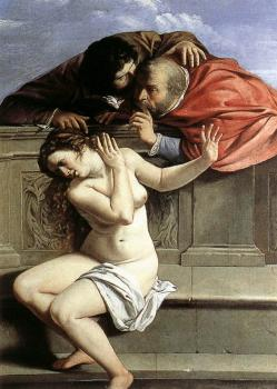Artemisia Gentileschi : Susanna and the Elders