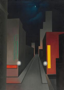George Ault : New moon, New York