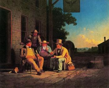 George Caleb Bingham : Canvassing for a Vote
