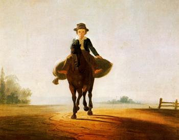 George Caleb Bingham : The Mill Boy: The Boonville Juvenile Clay Club Banner