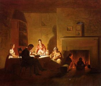 George Caleb Bingham : Family Life on the Frontier