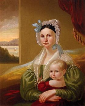Mrs David Steele Lamme and Son,William Wirt