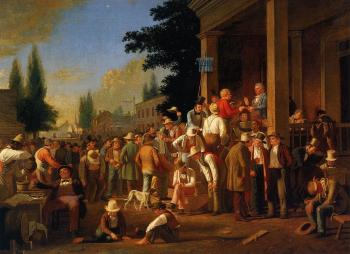 George Caleb Bingham : The County Election