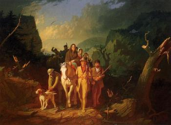 The Emigration of Daniel Boone