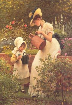 Leslie George Dunlop : The Young Gardener
