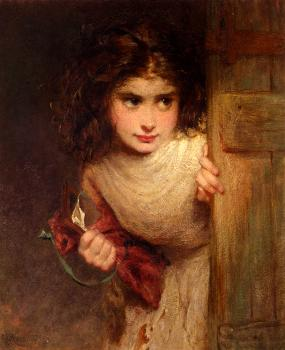 George Elgar Hicks : Home From School