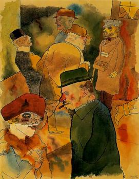 George Grosz : Twilight