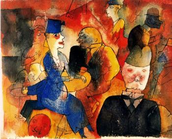 George Grosz : Cafe