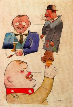 George Grosz : German wine and German song