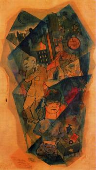 George Grosz : Whisky